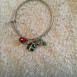 Silver Holiday Bracelet